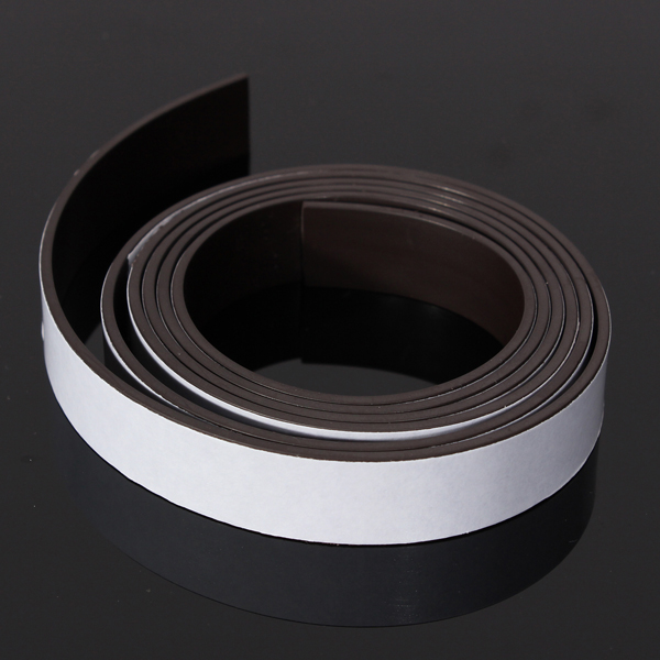 3 Size 1/2/5m Self Adhesive Magnet Rubber Strong Magnetic Powder Roll Tape Strip