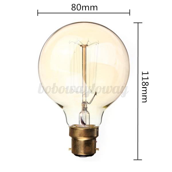 Lampadine Vintage Led: Lamp holder round edison bulb fixture vintage retro ha...