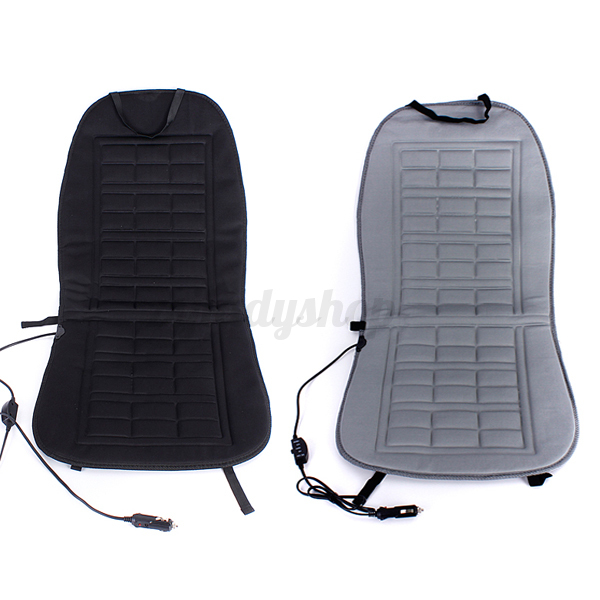 Universal 12V Car Auto Front Seat Hot Heated Thermal Pad Cushion Warmer Cover