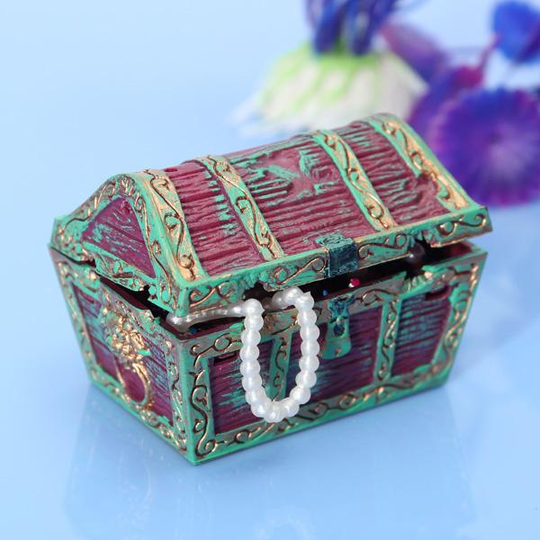 Fish bowl treasure chest for Fish tank treasure chest