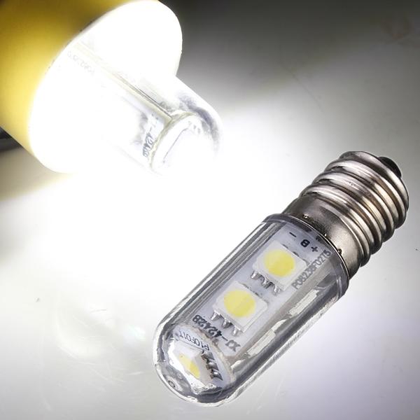 ac 220v e14 1w 7 led 5050 smd refrigerator light bulb. Black Bedroom Furniture Sets. Home Design Ideas