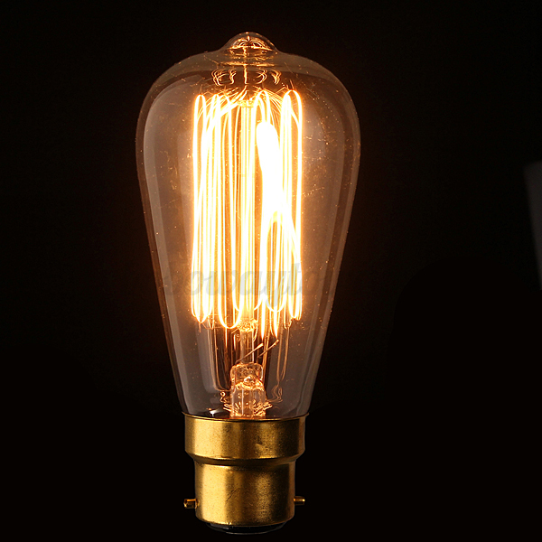 lampadine e27 e14 b22 40w 60w edison vintage led lampada filamento luce caldo ebay. Black Bedroom Furniture Sets. Home Design Ideas