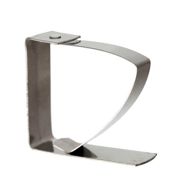 4pcs pince nappe en inox accroche attache fixe serre clip universel table ebay. Black Bedroom Furniture Sets. Home Design Ideas