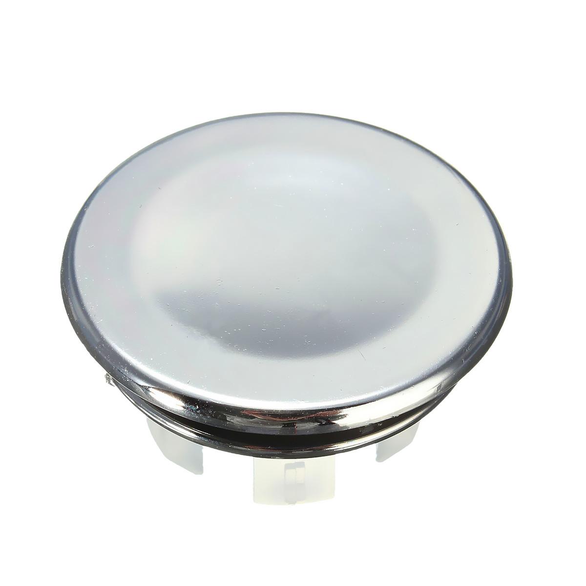 Round Overflow Cover Tidy Trim Chrome For Bathroom Basin