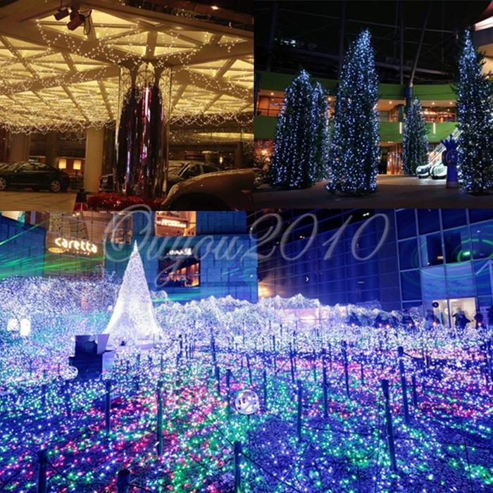 10m 20m 30m 40m 50m led guirlande lumieuse bande lampe for Guirlande lumineuse exterieur 40m