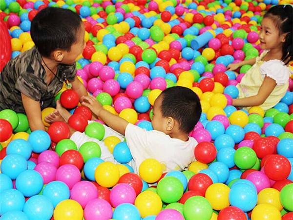 20 100 balles boules multicolores 5 5cm plastique jeux for Piscine a boule bebe