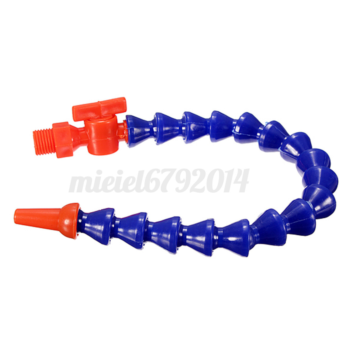 Pcs flexible plastic water oil coolant pipe hose for