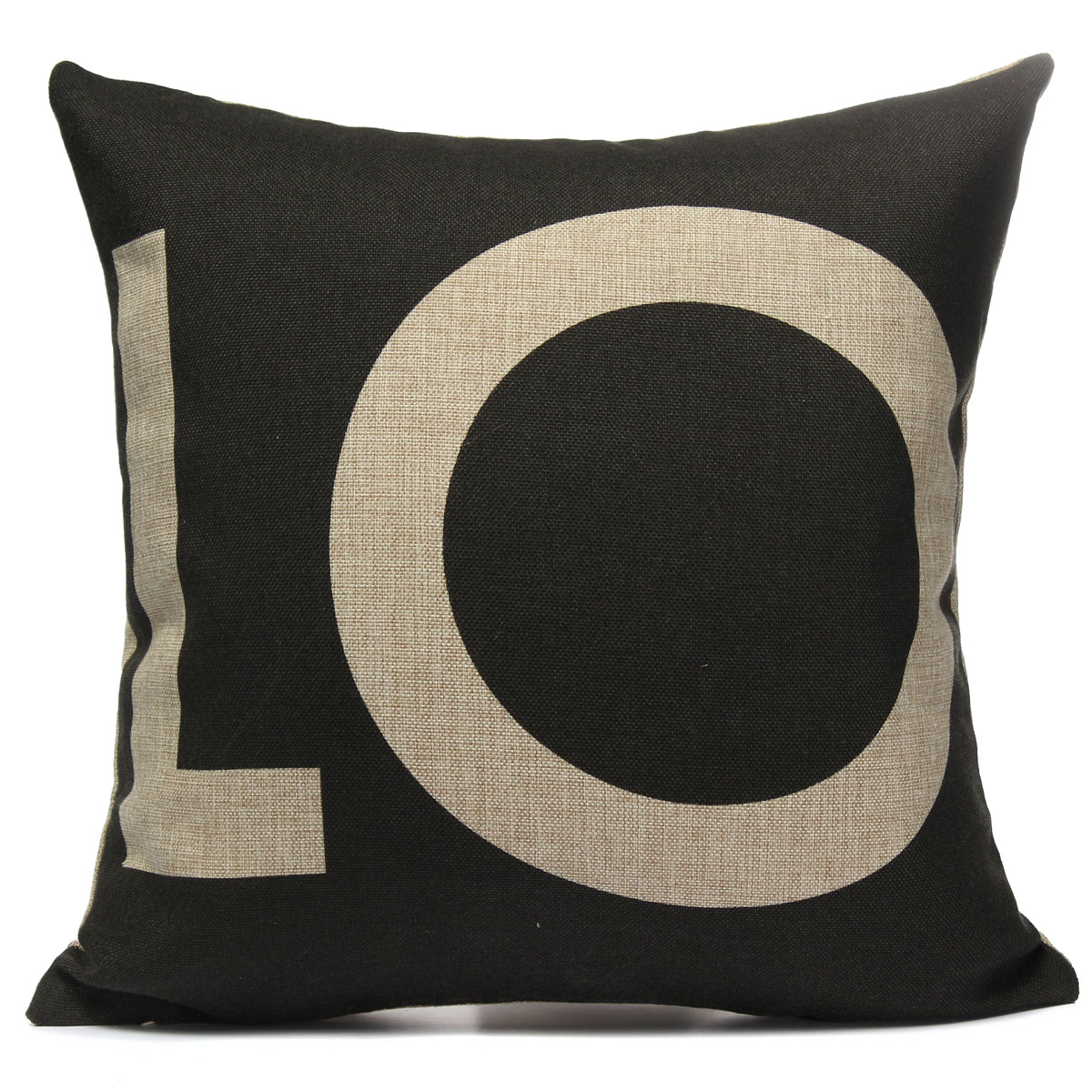 Cotton Linen LOVE Throw Pillow Case Car Cushion Cover Home Decor Valentine s Day