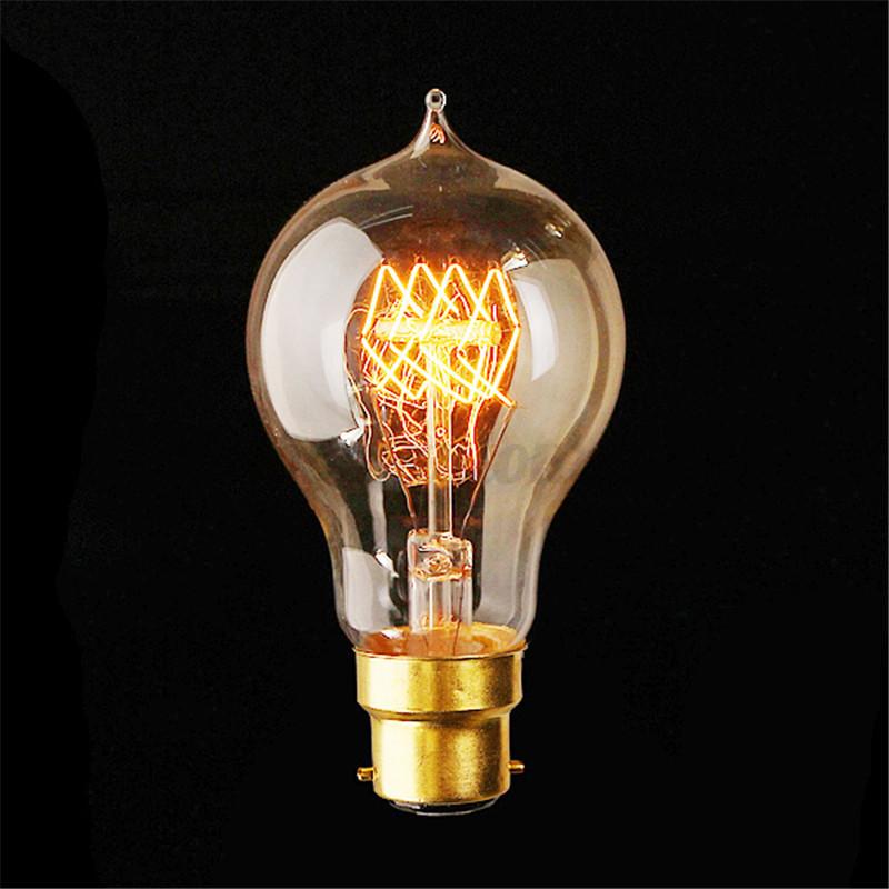 Lampadine E27 E14 B22 40W/60W Edison Vintage LED Lampada Filamento Luce Caldo  eBay