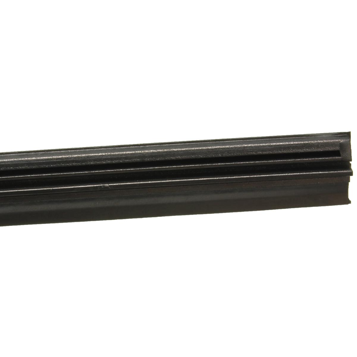 2x 24 6 mm scheibenwischer wischerbl tter wischergummi wiper schwarz auto kfz ebay. Black Bedroom Furniture Sets. Home Design Ideas