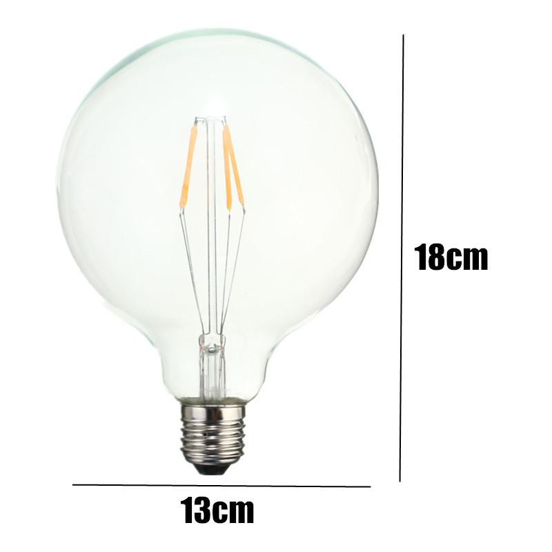 4w 6w 8w E27 Vintage Edison Energy Saving Led Bulb Light