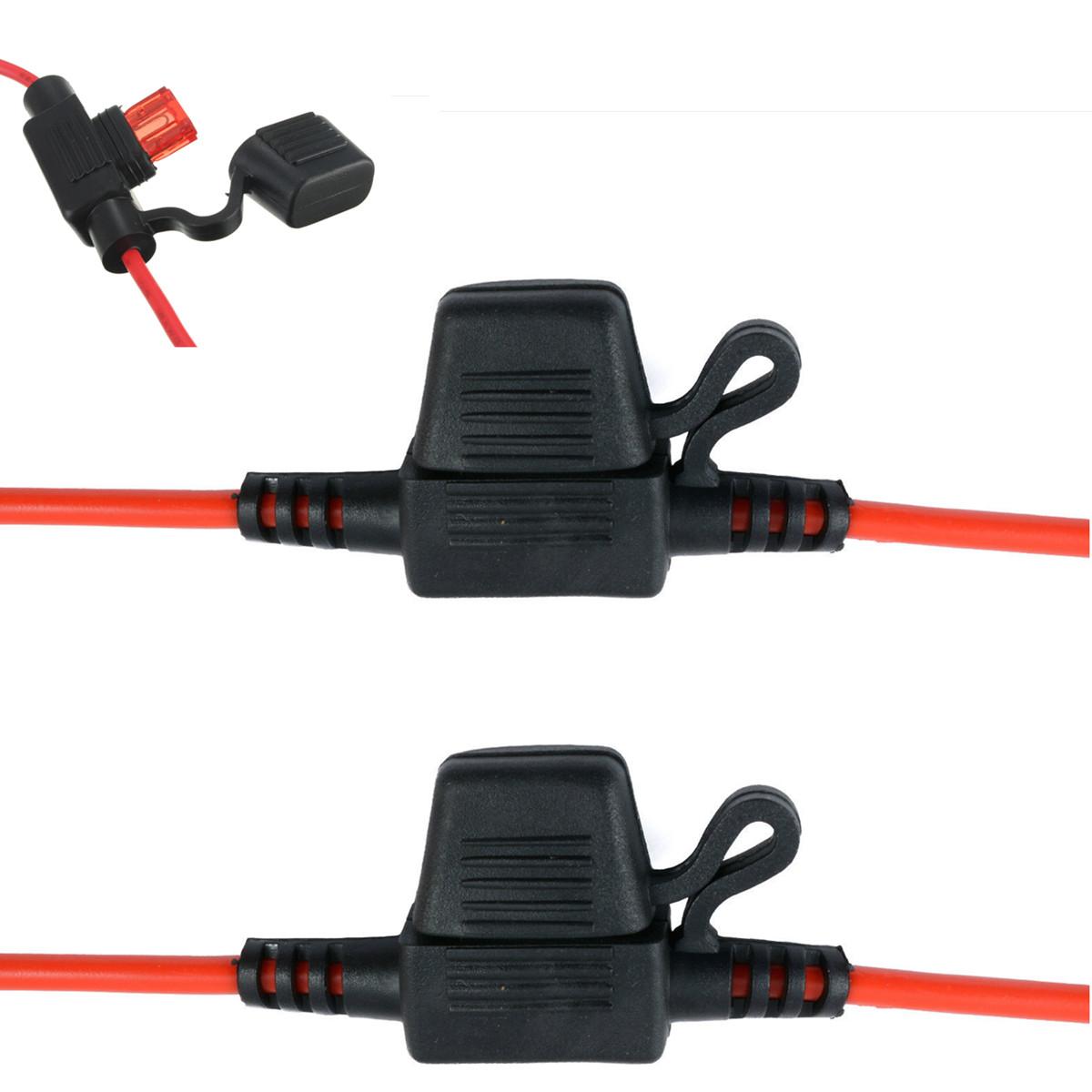fuse block box holder atc blade waterproof in line fuse