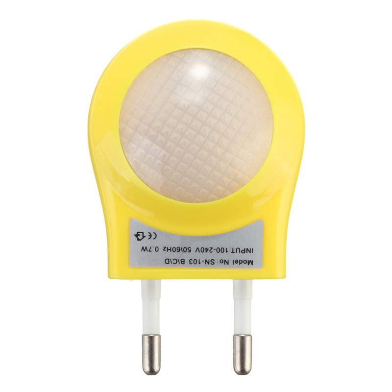 Led Night Light Lighting Auto Sensor Lamp Eu Plug Kid S