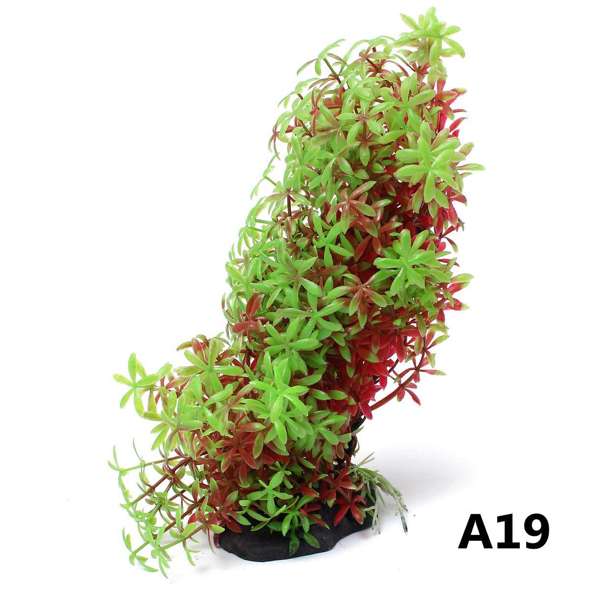 20Style Aquarium Fish Tank Artificial Hill Plants Coral Reef Ornament Decoration