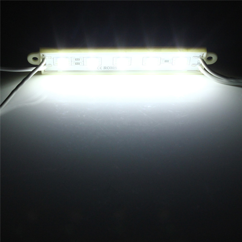 5 SMD 5050 LED Module Light Impermeable Hard Strip Luz Tira  Light 12V Brillante