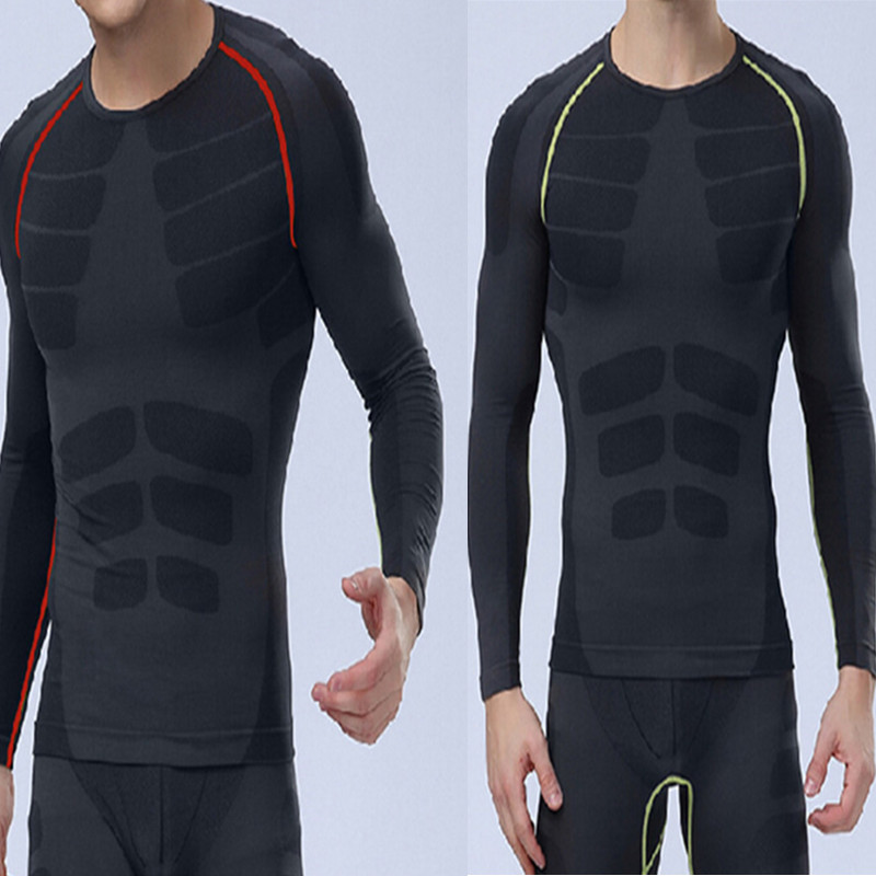 Men Compression Sports Tight Shirts Pants Fitness GYM Base Layer Tops M-X HOT