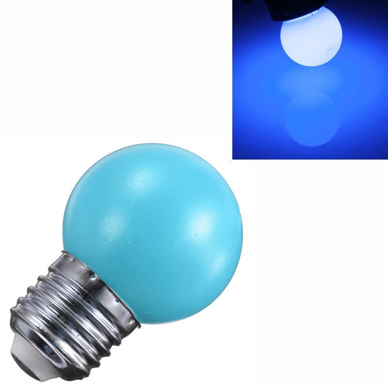 1 5 10 New E27 1w 2w 3w Energy Saving Led Golf Ball Light Bulb Globe Lamp Ebay