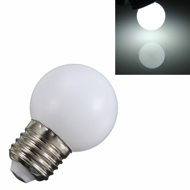1/5/10 New E27 1W 2W 3W Energy Saving LED Golf Ball Light Bulb Globe Lamp