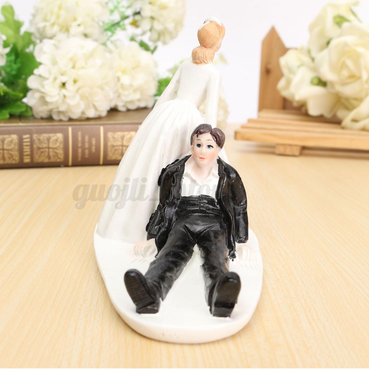 Romantic Couple Wedding Cake Topper Love Favors Figurine