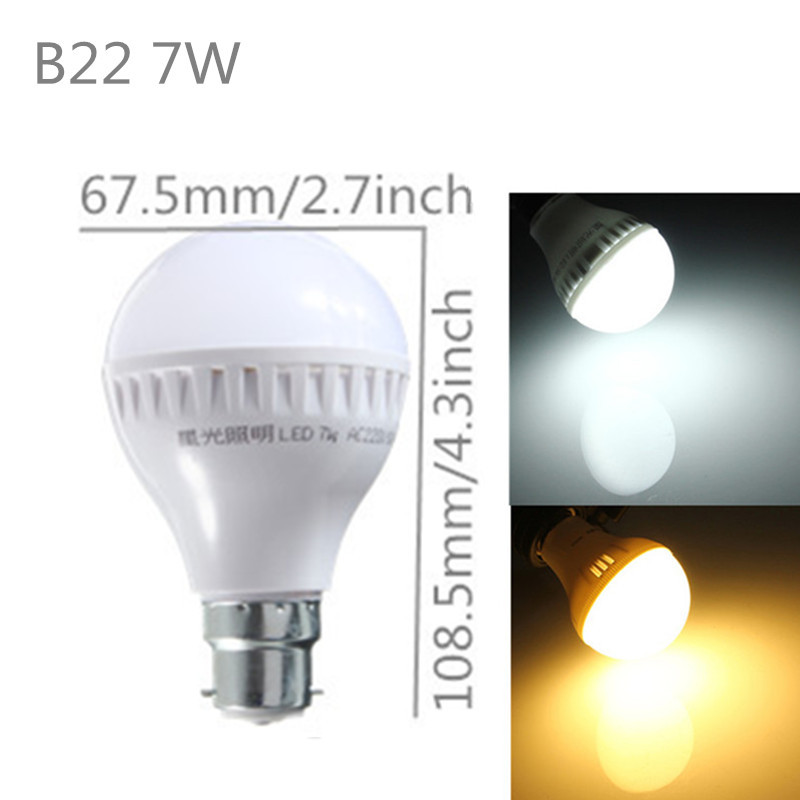 e27 b22 globe ampoule 5630 led lampe bulb 3 5 7 9 12 15 18w economie d 039 energie ebay. Black Bedroom Furniture Sets. Home Design Ideas