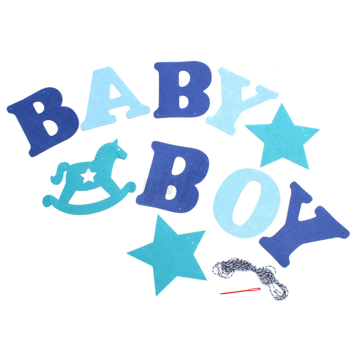 Letter From Baby To Baby Shower Guests: Bunting Banner Flags Garland Wedding Baby Birthday Party