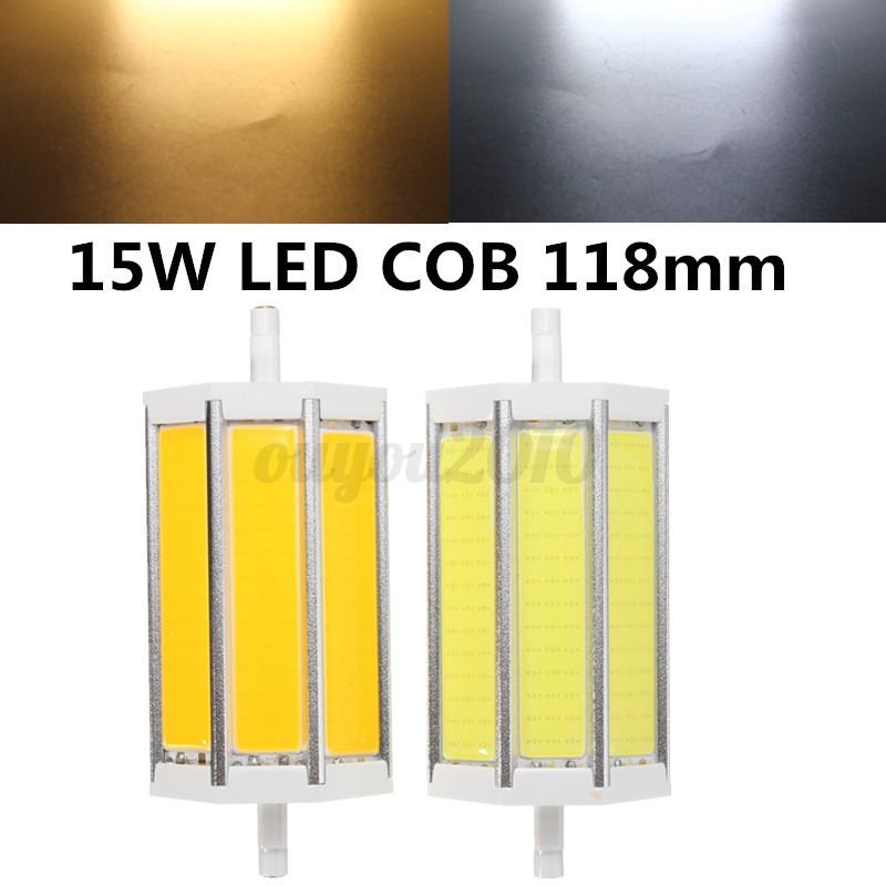 r7s led cob smd 10 15 20 25w ampoule spotlight lampe 78 118 135 189mm dimmable ebay. Black Bedroom Furniture Sets. Home Design Ideas