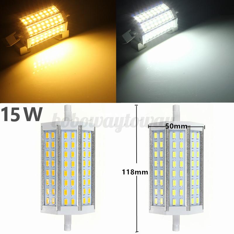 5730 5630 r7s led 78mm 118mm 10w 15w 25w leuchtmittel fluter lampe halogenstab ebay. Black Bedroom Furniture Sets. Home Design Ideas