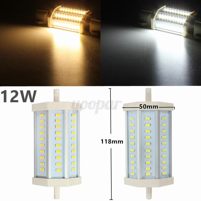 Detalles de Lampadina 5730/5630 R7S LED 78MM 118MM 10W 15W 25W Alogena ...