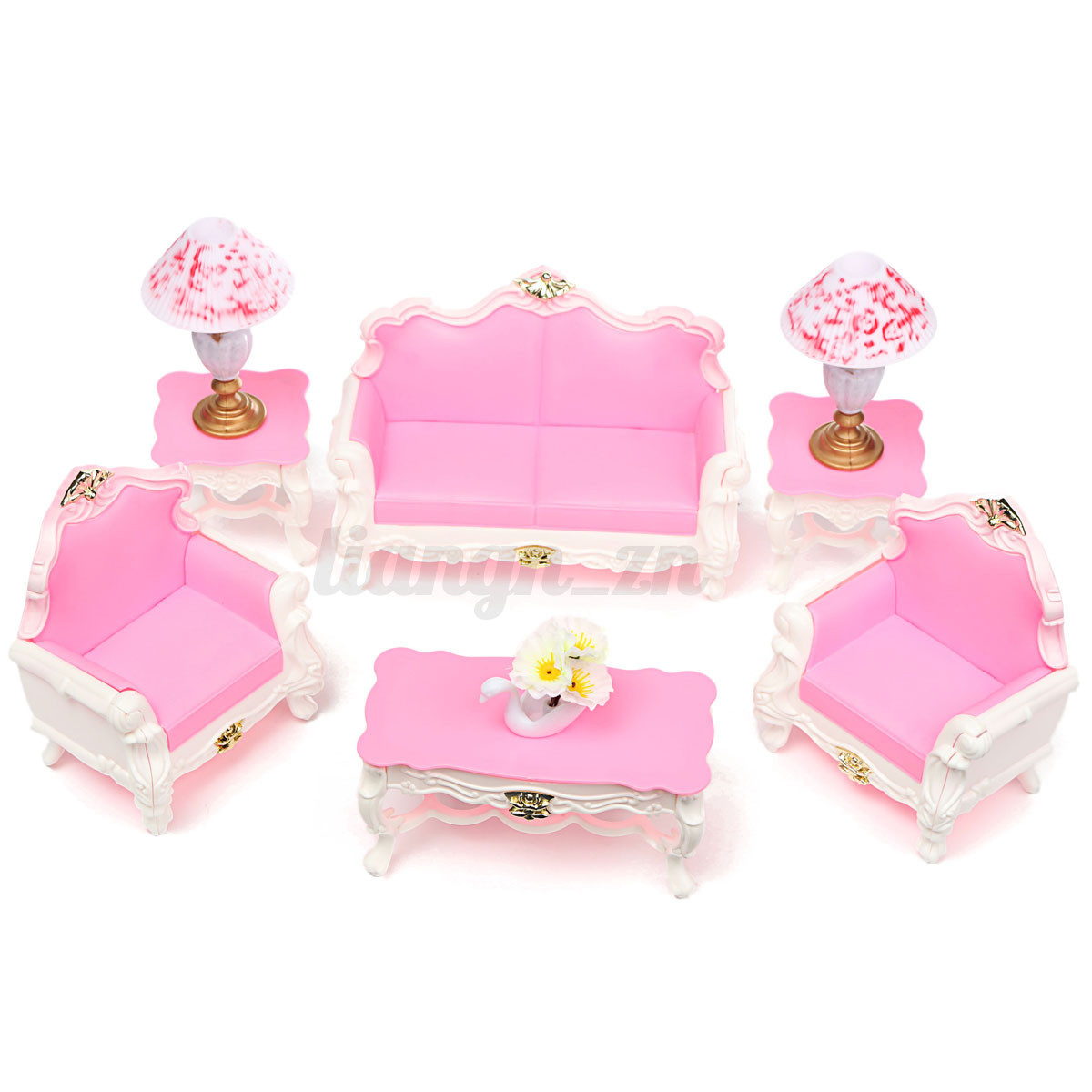 mobilier meuble pour barbie poup es maison furniture. Black Bedroom Furniture Sets. Home Design Ideas