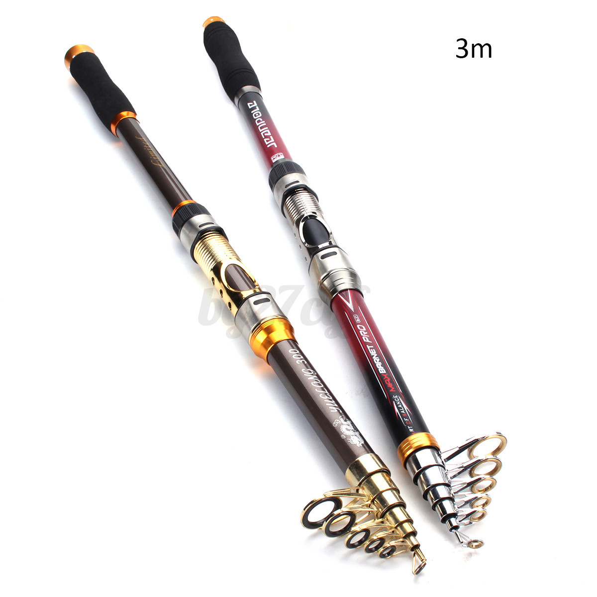 1 6 super strong carbon telescopic spinning pole for Strongest fishing rod