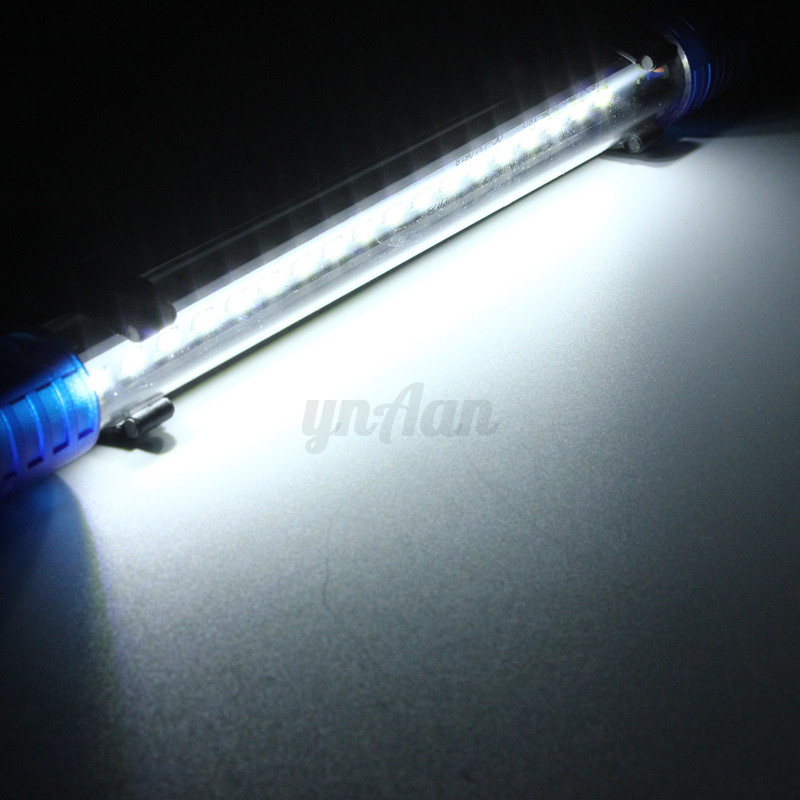 White blue rgb 20 50cm waterproof led aquarium fish tank for Fish tank led light bar