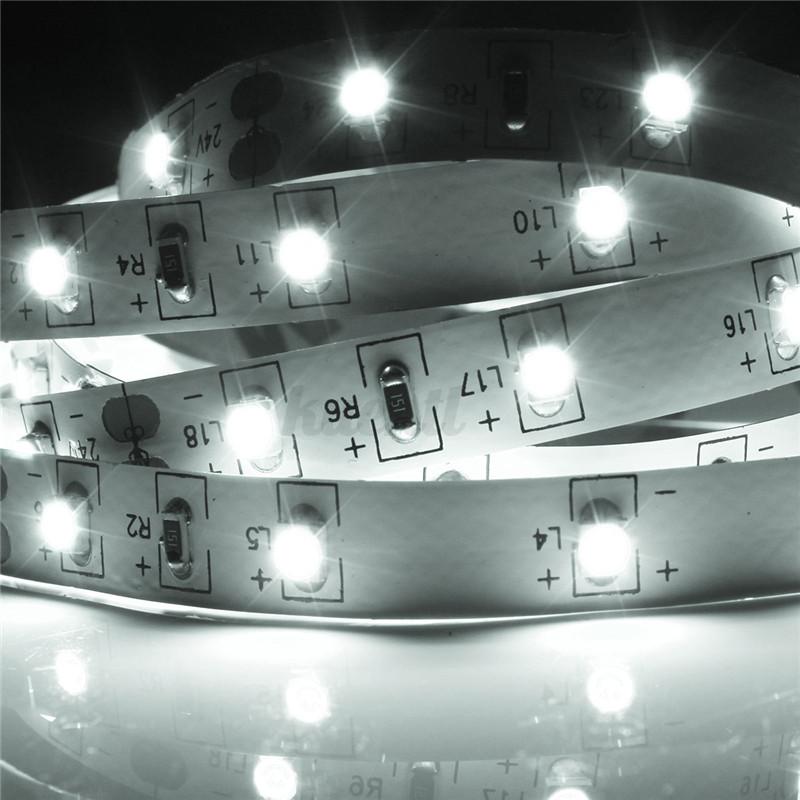 3528 led strip streifen auto leiste 60smd m kfz innenraum. Black Bedroom Furniture Sets. Home Design Ideas