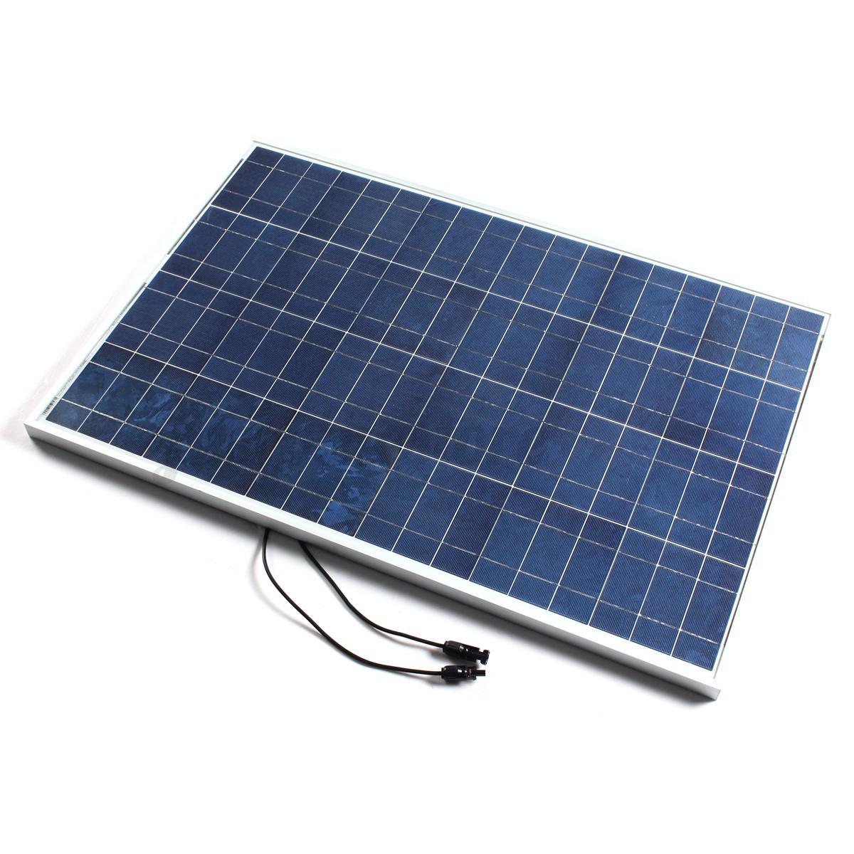 12v 100w Solar Panel 12v 24v 10a Solar Controller Z
