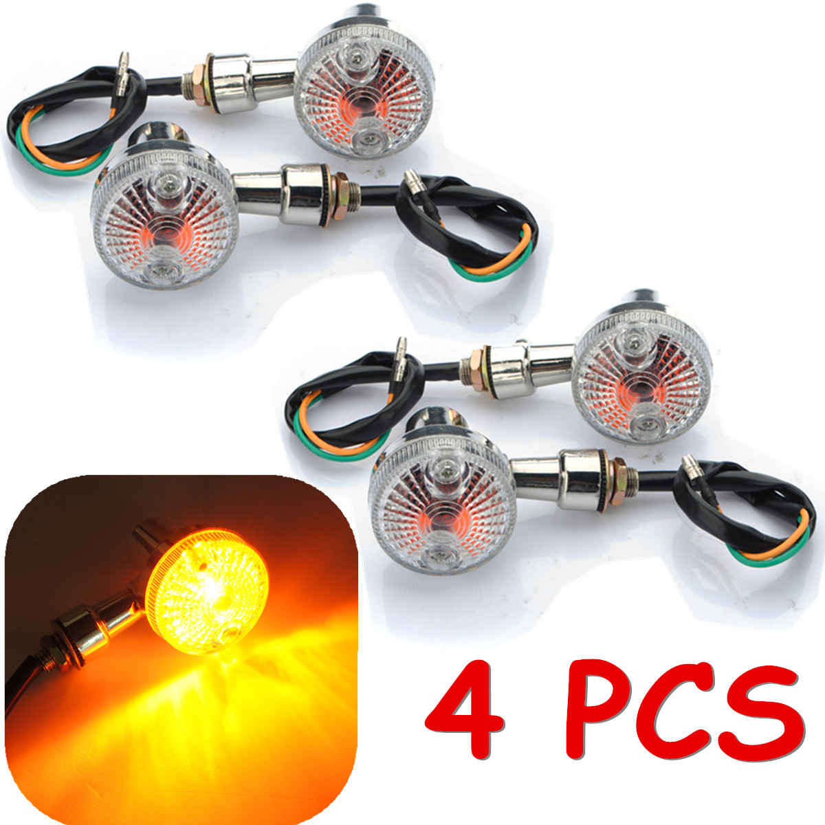 12v 6 led mini blinker licht universal motorrad quad roller lampe e pr fzeichen ebay. Black Bedroom Furniture Sets. Home Design Ideas