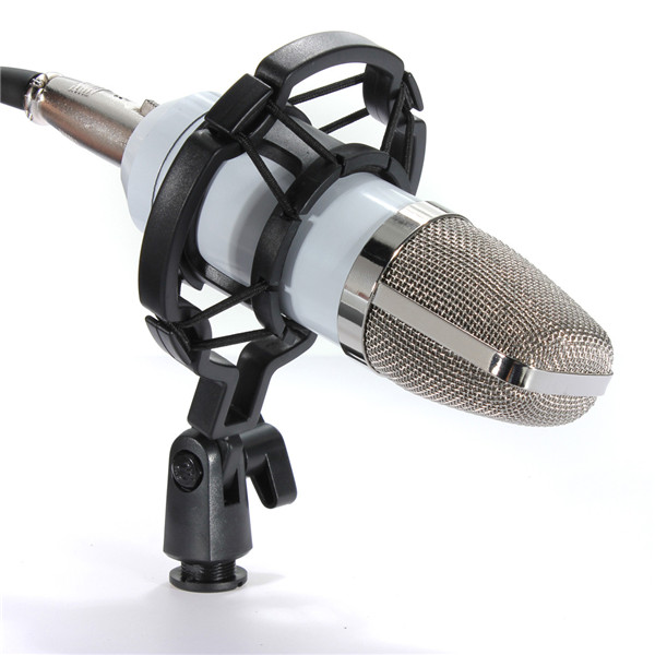 bm700 studio condenser recording microphone vocal singing podcast mic with mount ebay. Black Bedroom Furniture Sets. Home Design Ideas