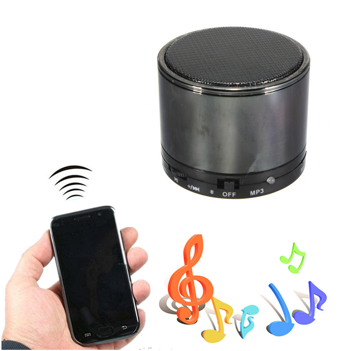 hifi bluetooth st r o enceinte haut parleur tf mp3 lecteur pr iphone 6 5 5s mp3 ebay. Black Bedroom Furniture Sets. Home Design Ideas