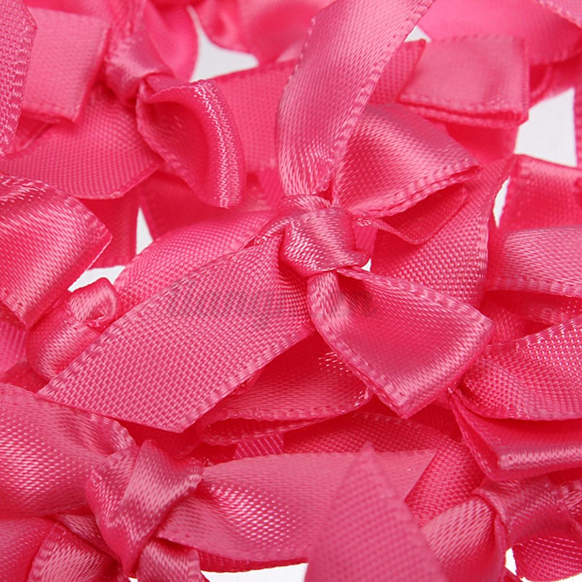 Lots 50pcs ruban noeud de papillon satin scrapbooking for Couture mercerie