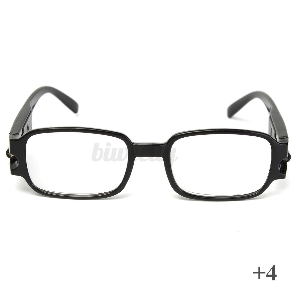 unisex rimmed reading eye glasses with led light 1 5 2