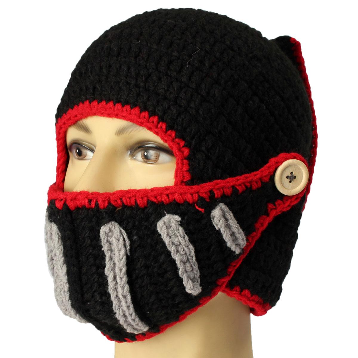 Face Ski Mask Crochet For Winter Patterns - Patterns Kid