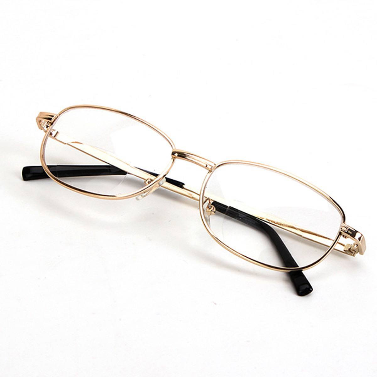 Gold Frame Reading Glasses : Fashion Bifocal Lens Rimmed Mens Reading Glasses Gold ...