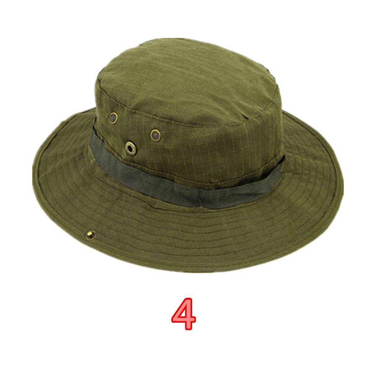 Outdoor camo military army wide brim boonie bush jungle for Fishing boonie hat