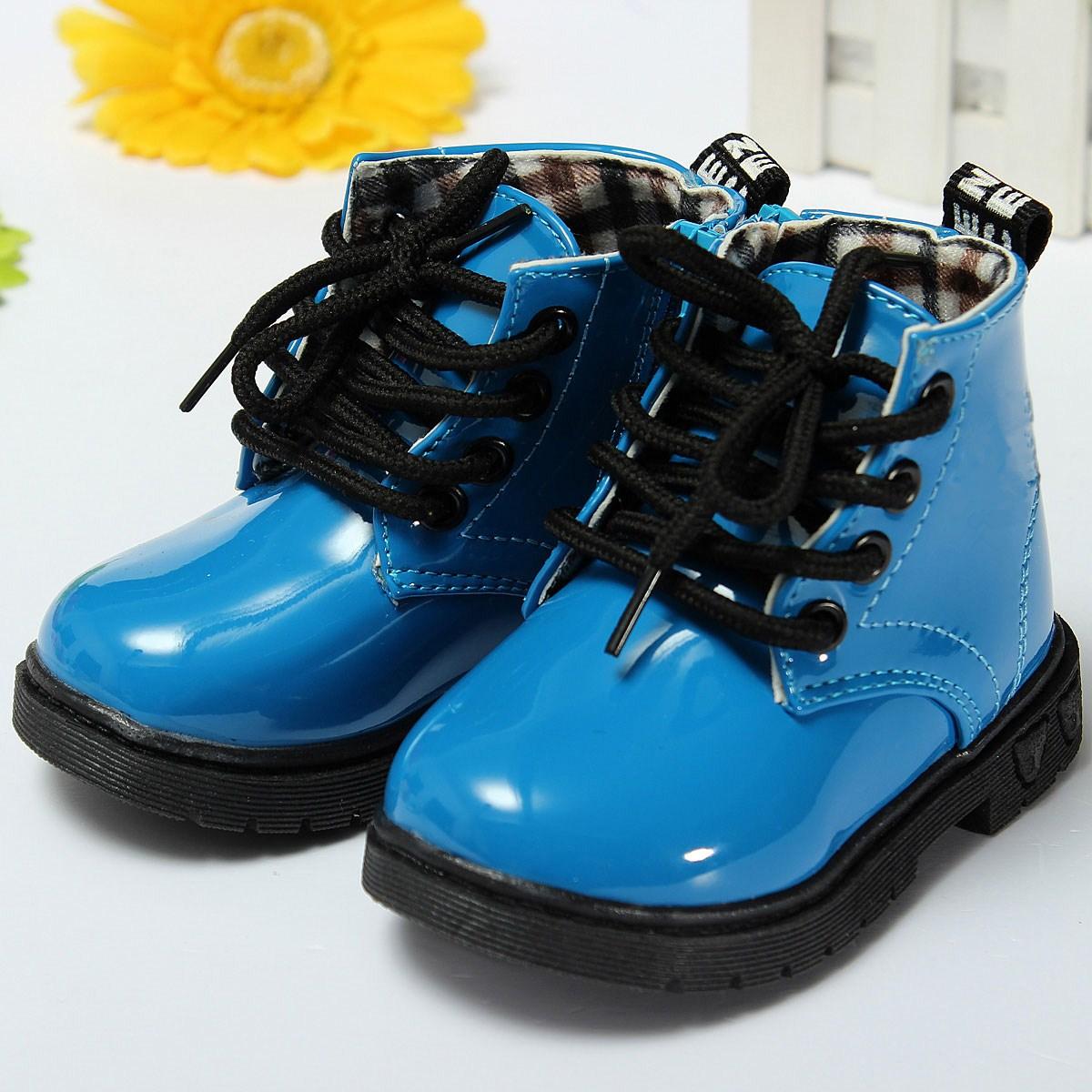 Kinderschuhe-Jungen-Maedchen-Stiefel-Sneaker-Schnuerer-Boots-Schuhe ...