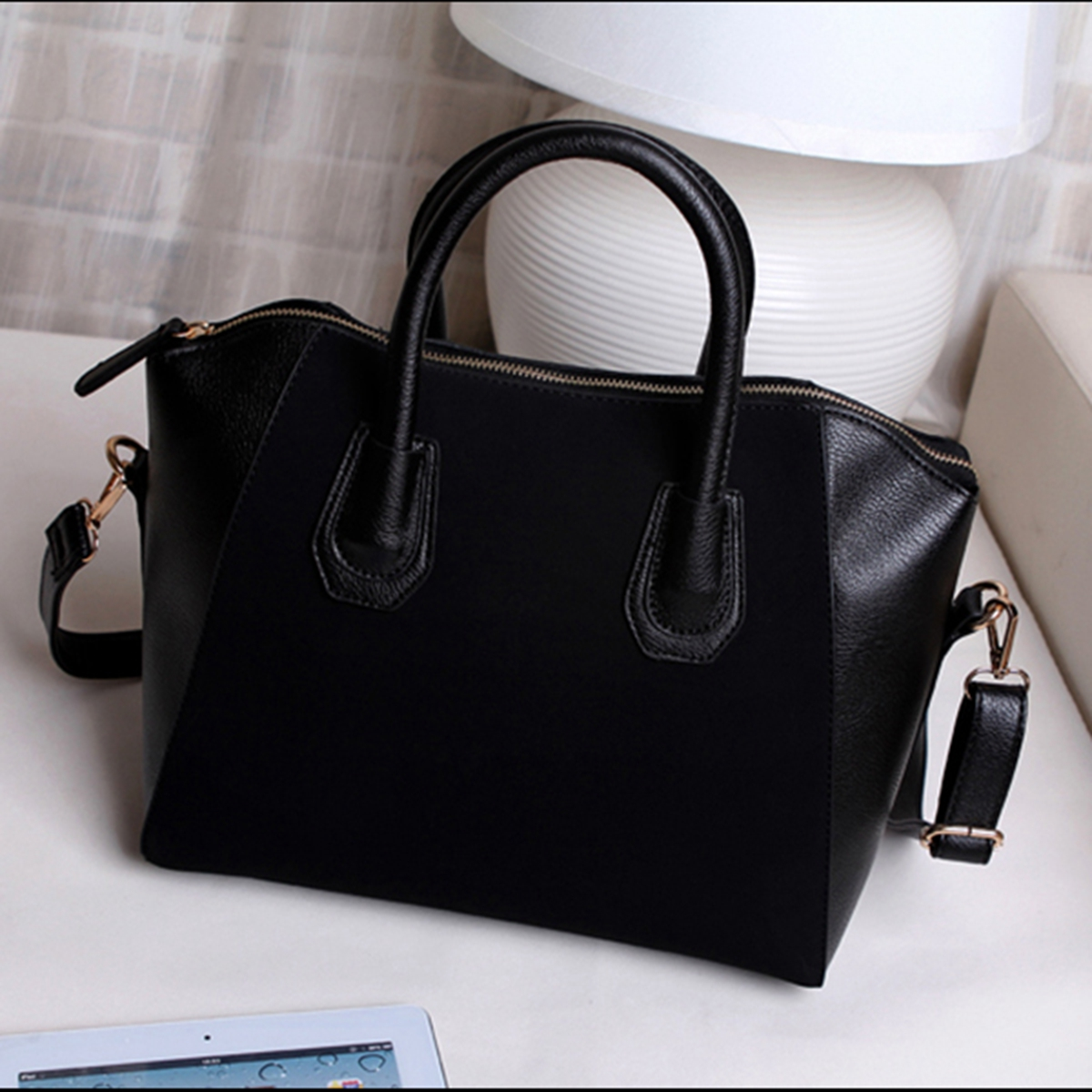 Women Lady Leather Shoulder Bag Tote Purse Handbag Messenger Cross ...