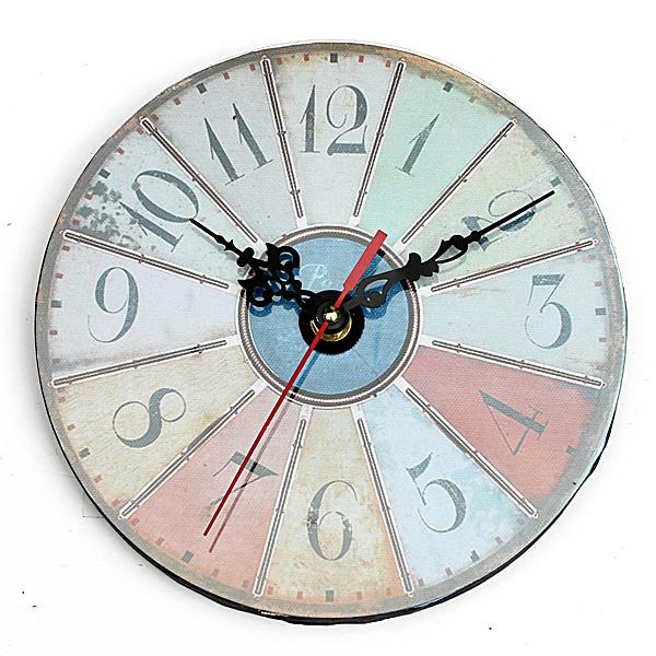 vintage antique rustique shabby horloge pendule murale maison bureau d coration ebay