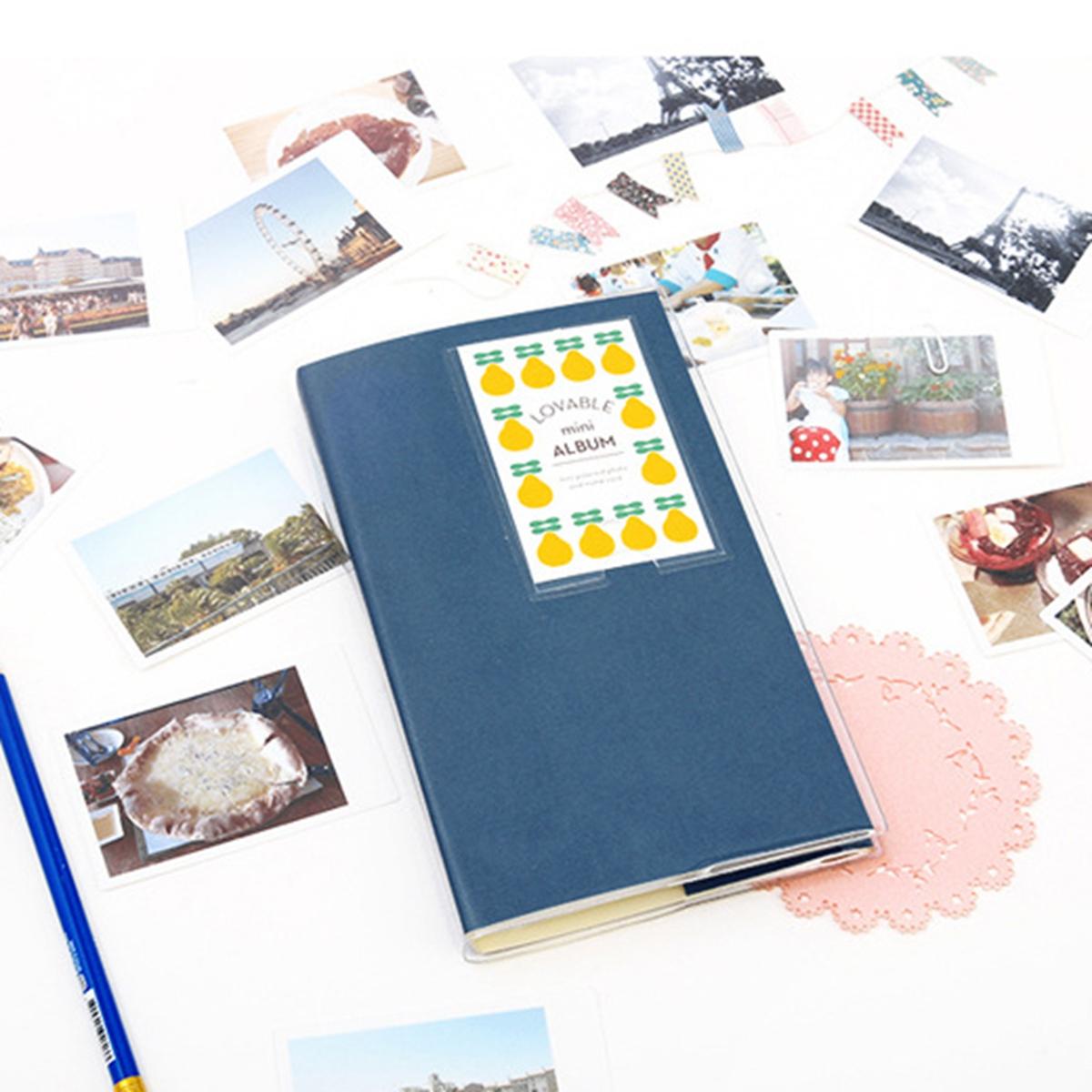 84 pockets storage album case mini film size photo for polaroid fujifilm instax ebay. Black Bedroom Furniture Sets. Home Design Ideas