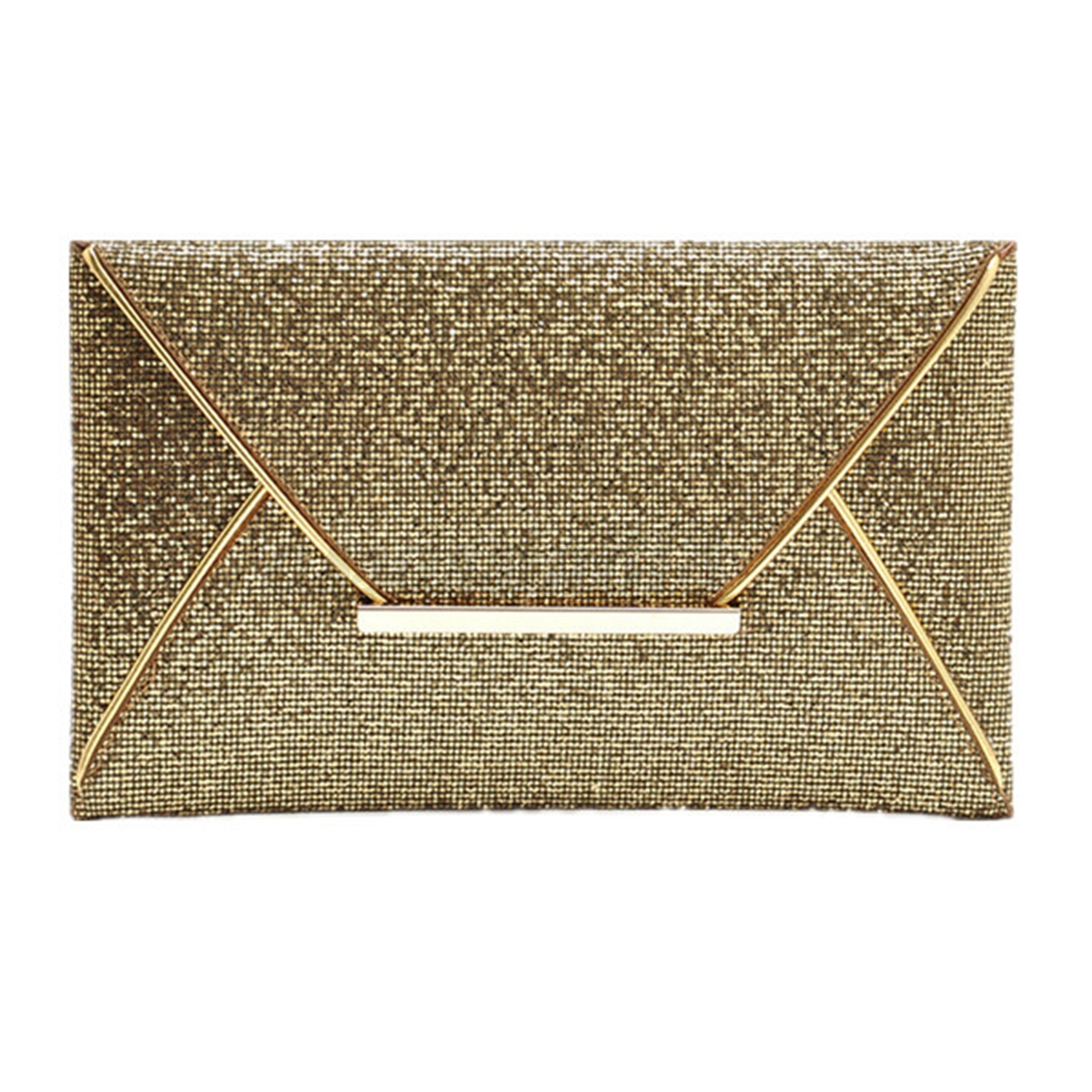 Fashion Women Ladies Evening Party Sequins Envelope Bag Purse Clutch Handbag HOT