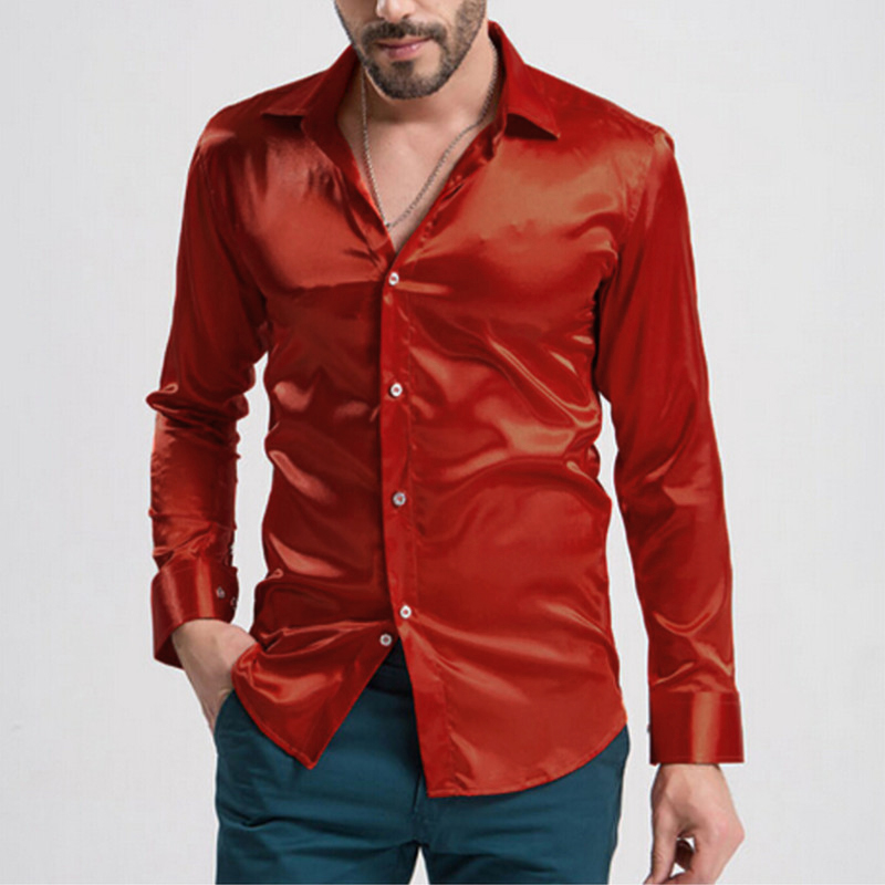 new mens casual dress slim fit t shirts casual sleeve