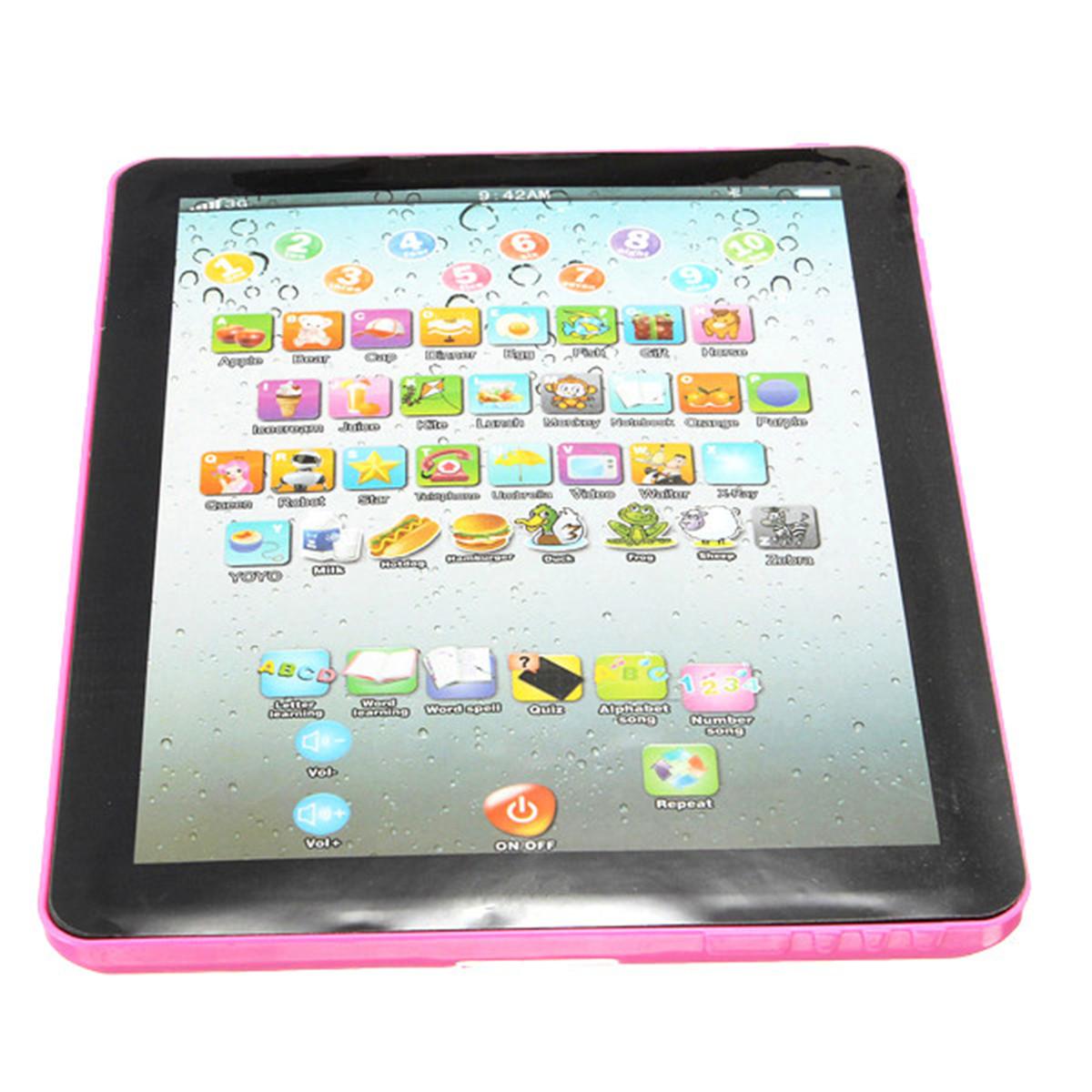 tablette tactile pad enfant bebe jouet educative prononciation compte laptop kid ebay. Black Bedroom Furniture Sets. Home Design Ideas