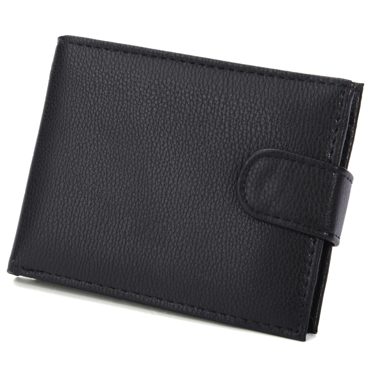 Men Leather Bifold Money Clip Card Holder Purse Wallet Clutch Coin Bag Pocket