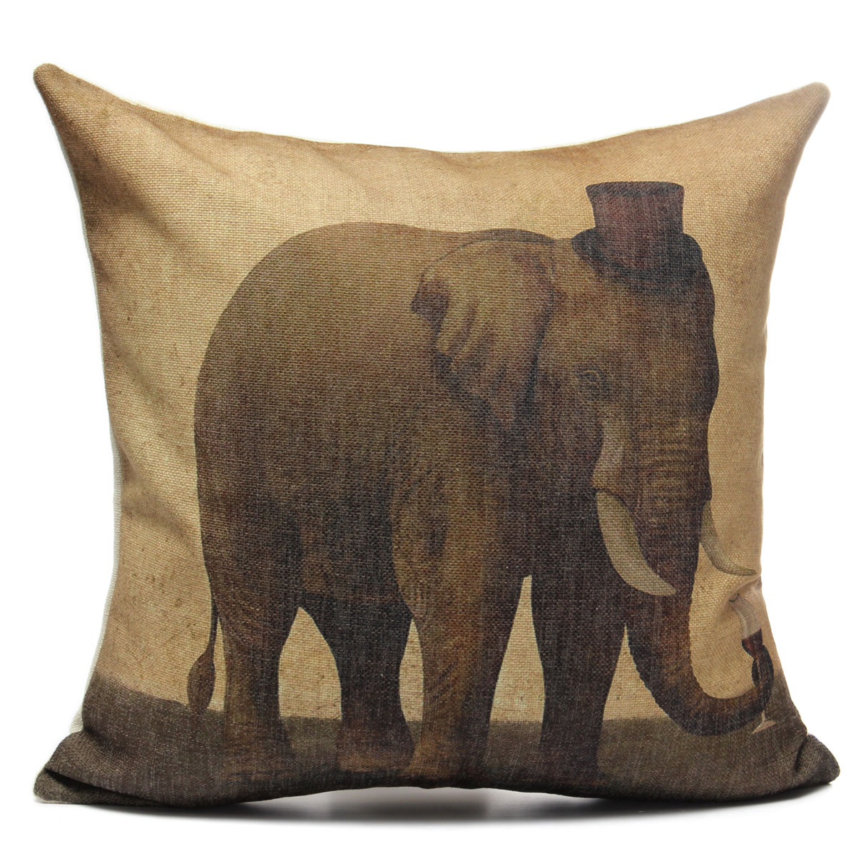 Animal Pillows : Animal World Home Decor Linen Pillow Case Bed Sofa Car Back Throw Cushion Cover eBay